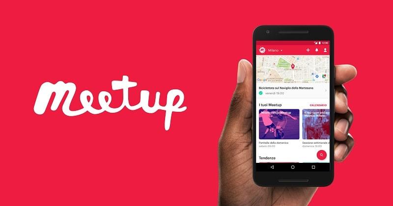 meetup guida piattaforma per eventi