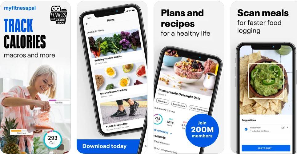 myfitnesspal app dieta gratis