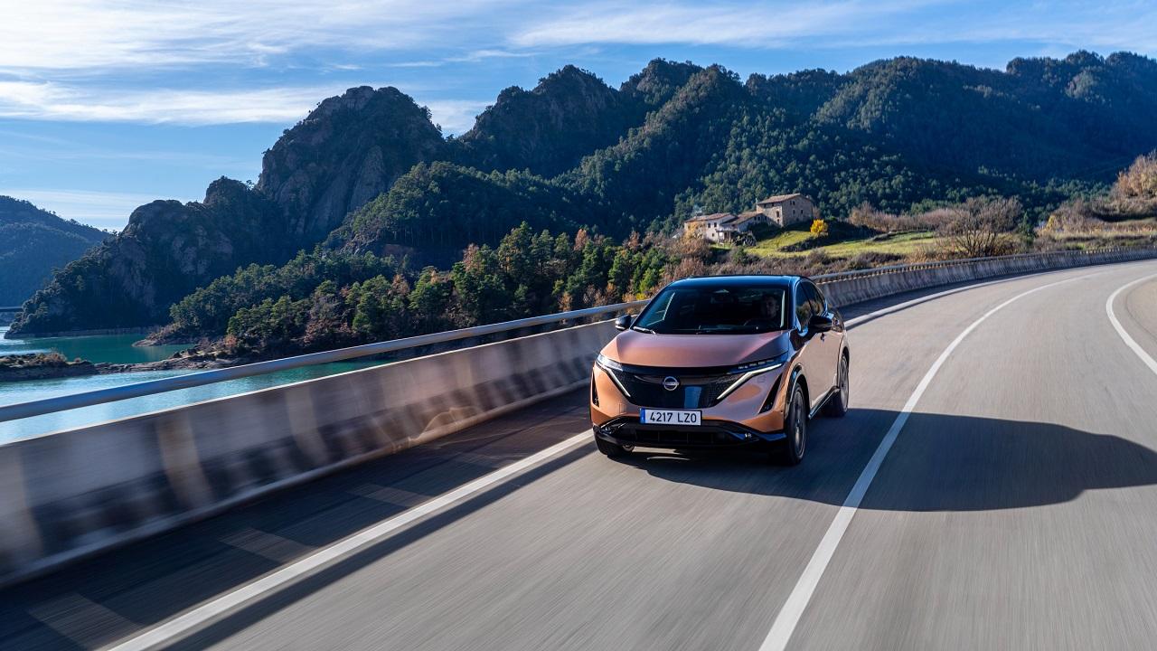 Nissan Ariya sarà il crossover più aerodinamico di sempre dell'azienda thumbnail