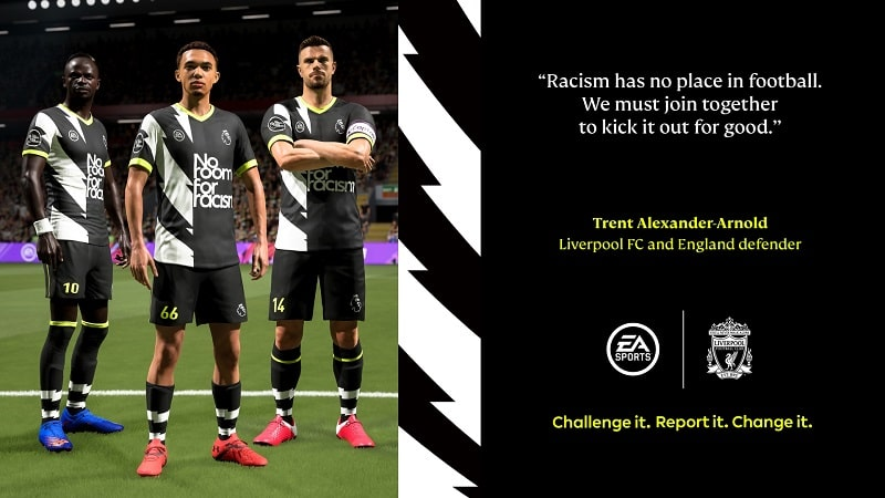 no room for racism fifa 2021