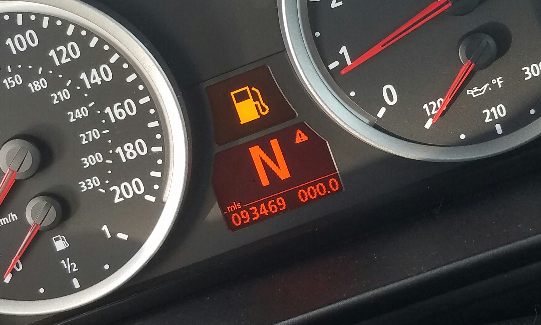 contachilometri BMW M5 E60