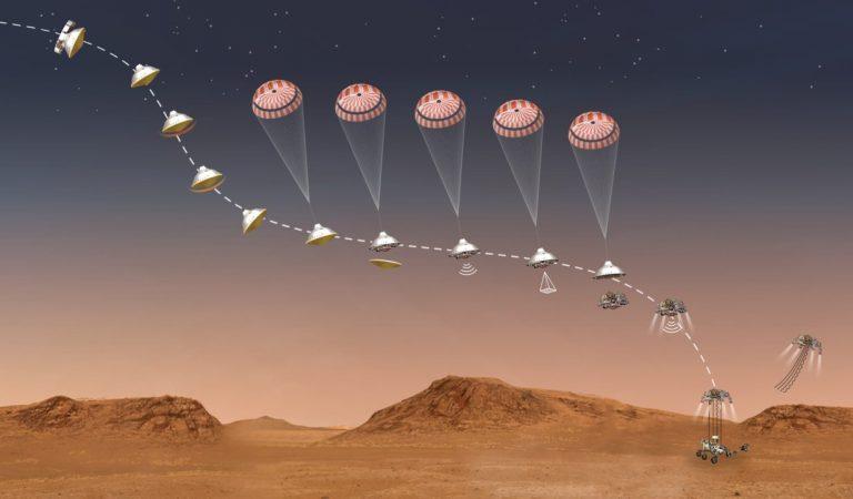 Il rover Perseverance è atterrato su Marte