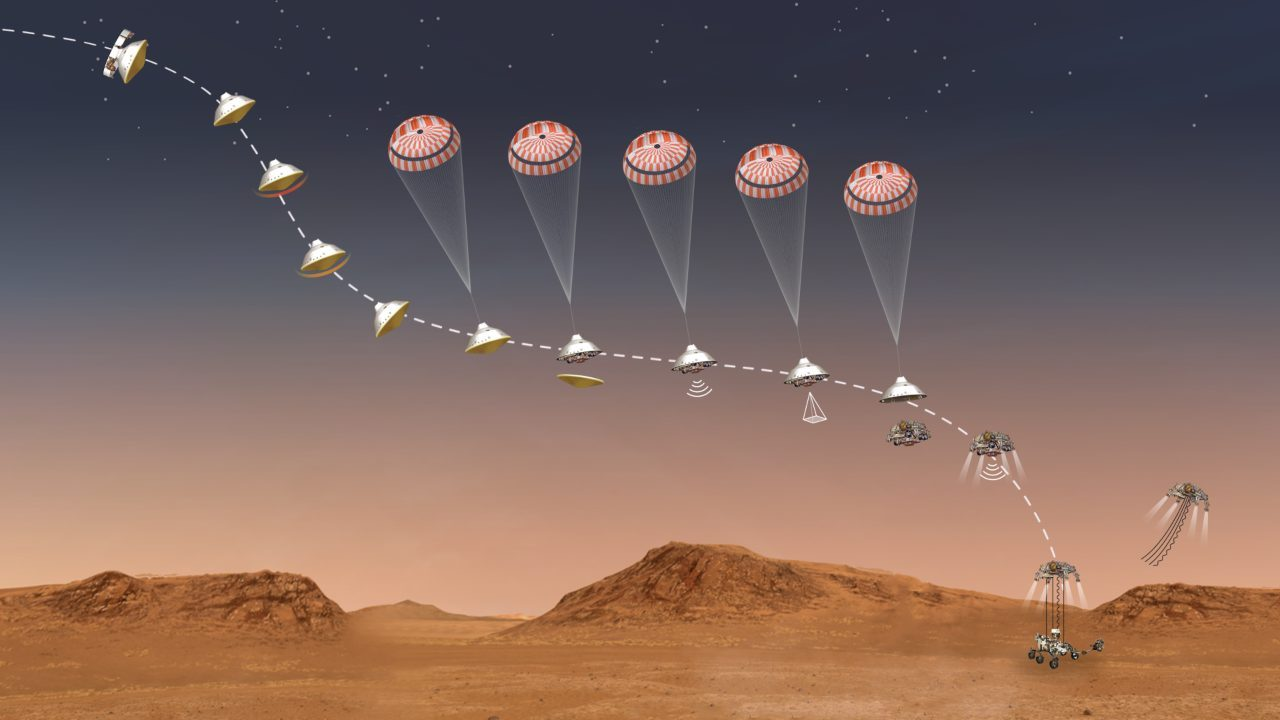 Il rover Perseverance è atterrato su Marte thumbnail
