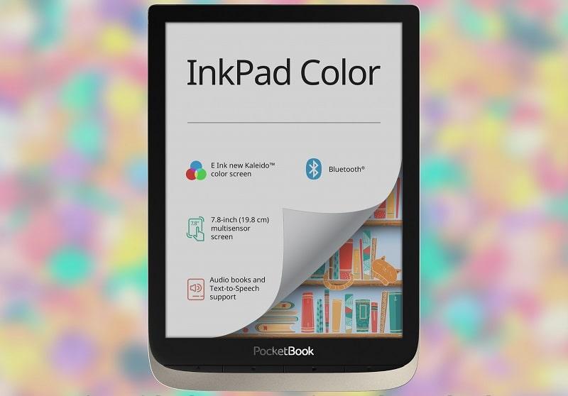 pocketbook inkpad color ereader a colori fumetti manga