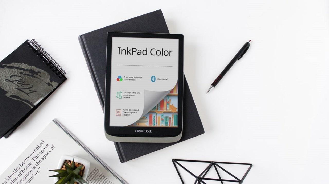 PocketBook presenta un ereader a colori da 7,8 pollici thumbnail