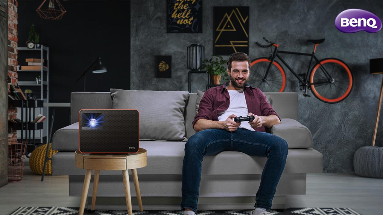 BenQ X1300i, il nuovo proiettore dedicato al gaming thumbnail