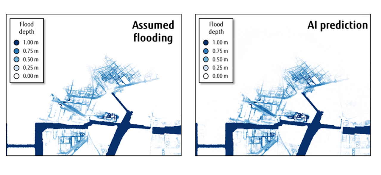 supercomputer fugaku previsione inondazioni tsunami