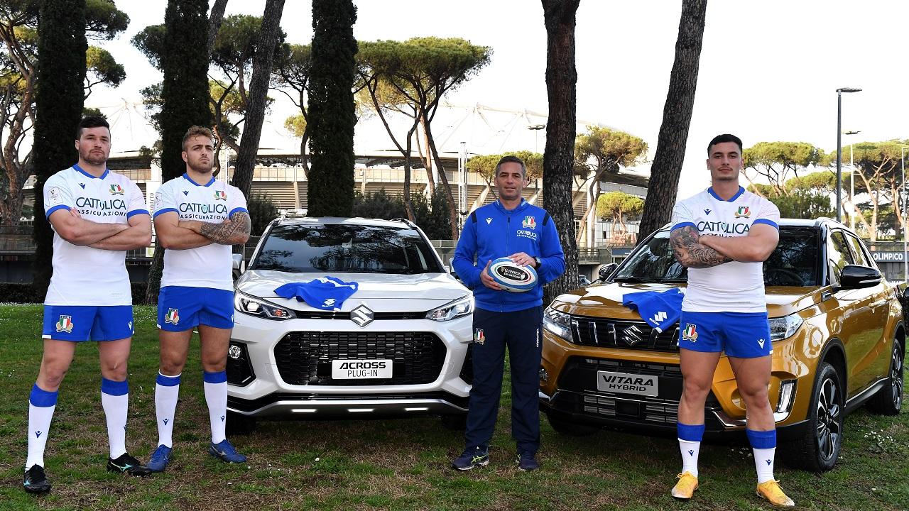 Suzuki è partner ufficiale della Federazione Italiana Rugby thumbnail