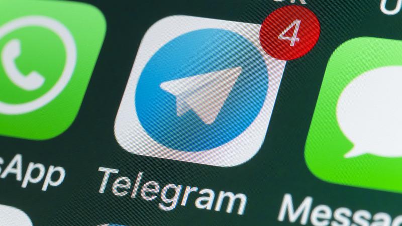 telegram icona iphone registrarsi