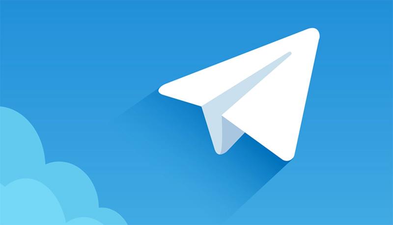 logo telegram personalizzazione