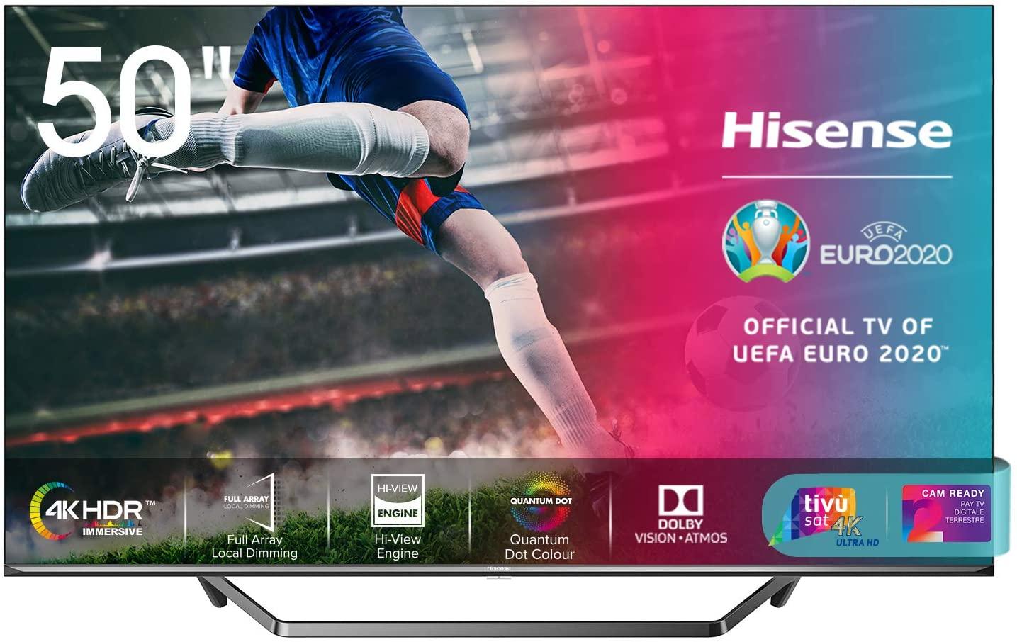 tv in offerta Hisense 50U71QF