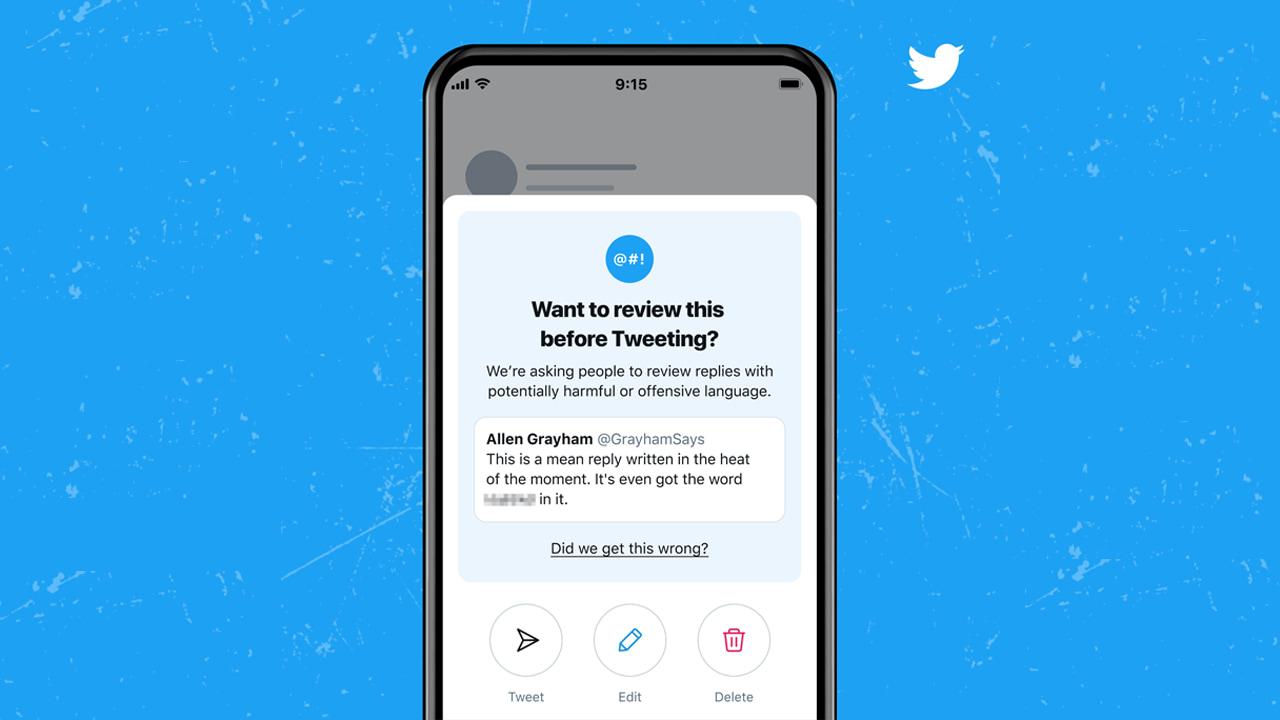 Twitter chiederà di rileggere le proprie risposte prima di renderle pubbliche thumbnail
