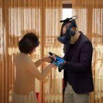 vedovo incontra la moglie in realtà virtuale