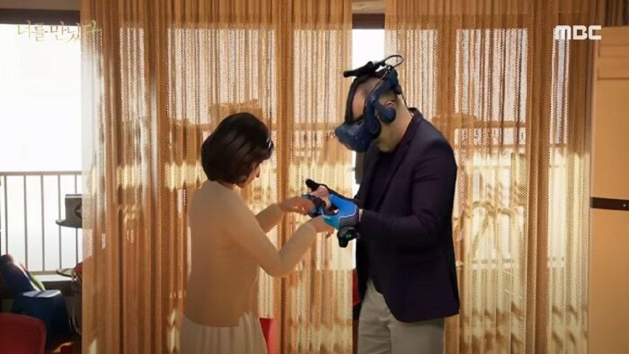 Un vedovo incontra la moglie in realtà virtuale thumbnail