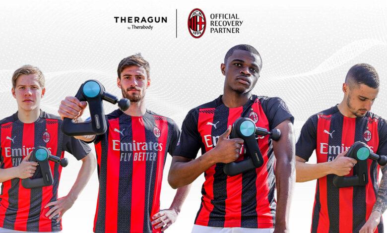 AC Milan e Therabody