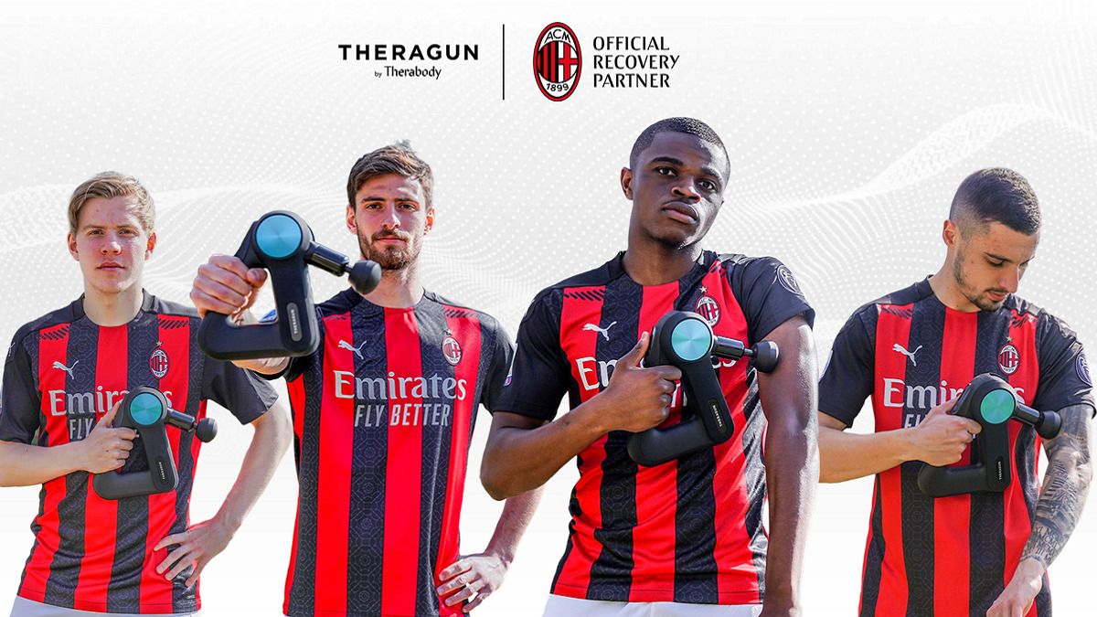 Therabody è il nuovo  Official Recovery Partner  dell'AC Milan thumbnail