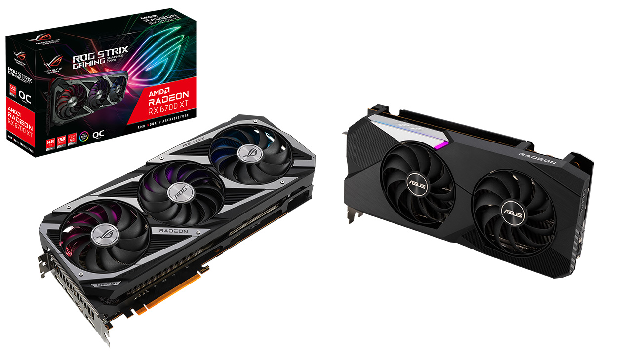 Asus annuncia tre nuove schede video Radeon RX 6700 XT thumbnail