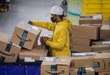 Amazon sciopero lavoratore