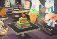Animal Crossing anniversario