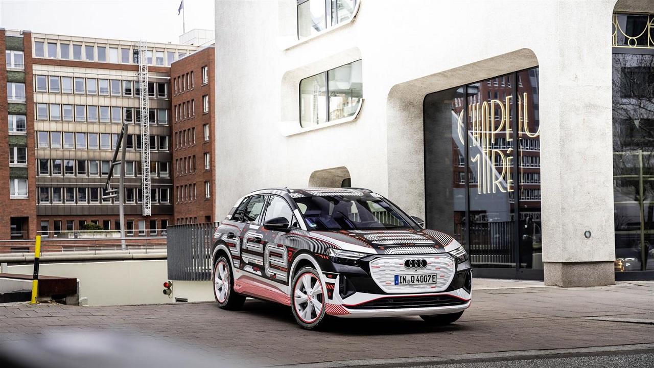 Audi Q4 e-tron: tecnologia e abitabilità per il nuovo SUV elettrico thumbnail