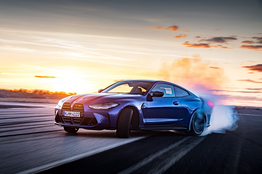 BMW M3 e M4 2021 Competition drift