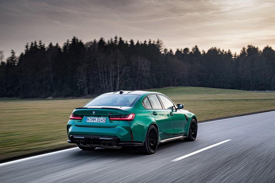 BMW M3 e M4 2021 Competition posteriore