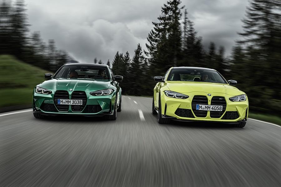 BMW M3 e M4 2021 frontale