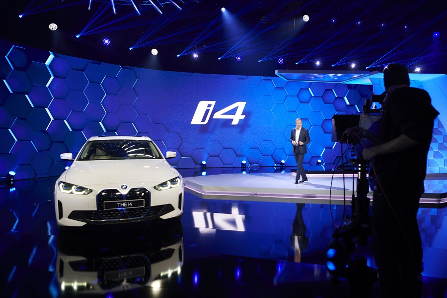 BMW i4 2021 con Zipse