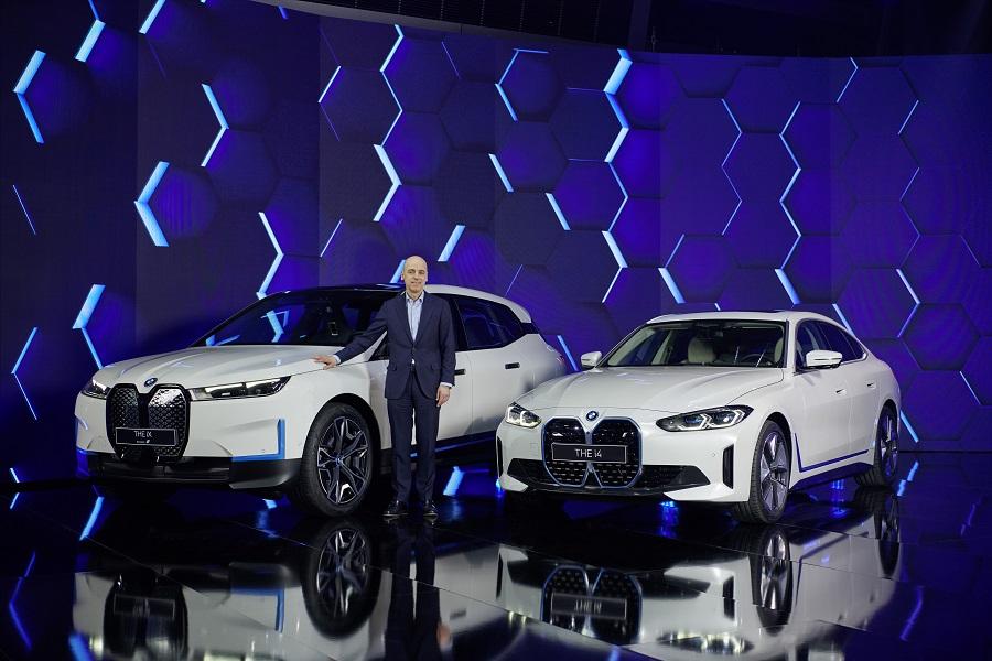 BMW i4 2021 e iX conferenza