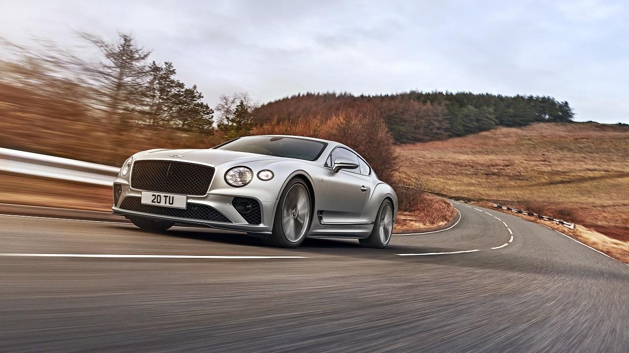 Bentley Continental GT Speed, con 659 CV è la più potente della storia della Casa inglese thumbnail