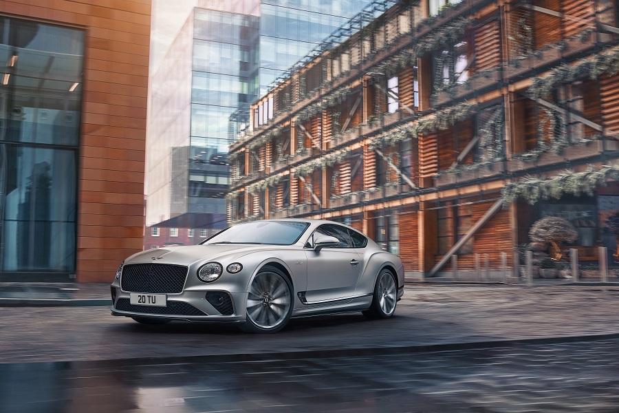 Bentley Continental GT Speed dinamica