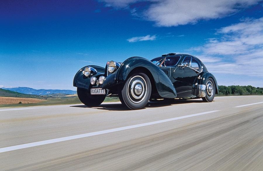 Bugatti e Porsche Atlantic