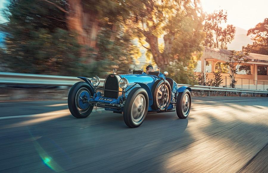 Bugatti e Porsche Type 35