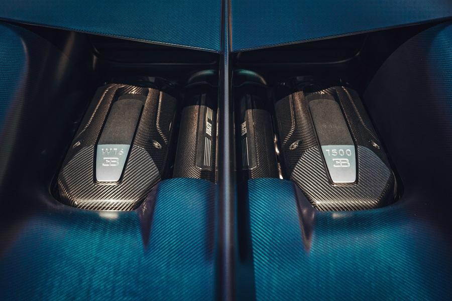 Motore Bugatti W16