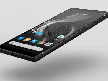 Carbon 1 MKII primo smartphone carbonio