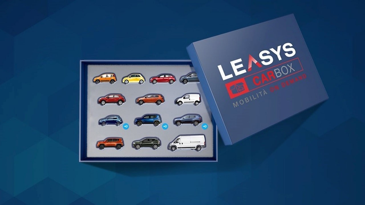 Nasce Leasys CarBox, il primo abbonamento on demand all'auto in Italia thumbnail