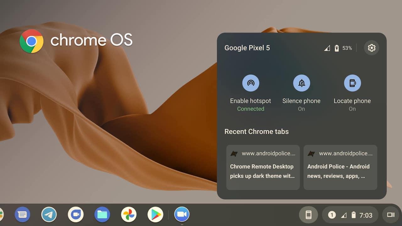 Una nuova funzione in stile Handoff arriva su Chrome Os thumbnail