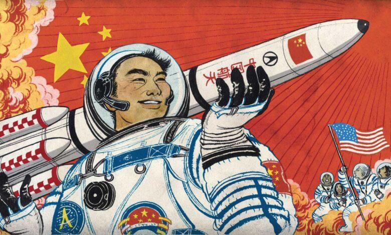 Cina sulla Luna corsa allo spazio