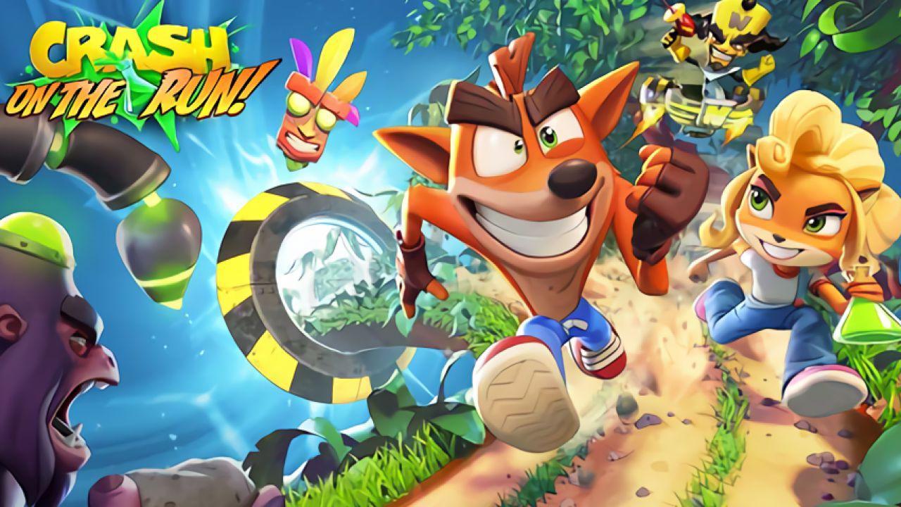 Annunciata la data d'uscita di Crash Bandicoot On The Run, il nuovo gioco per mobile thumbnail