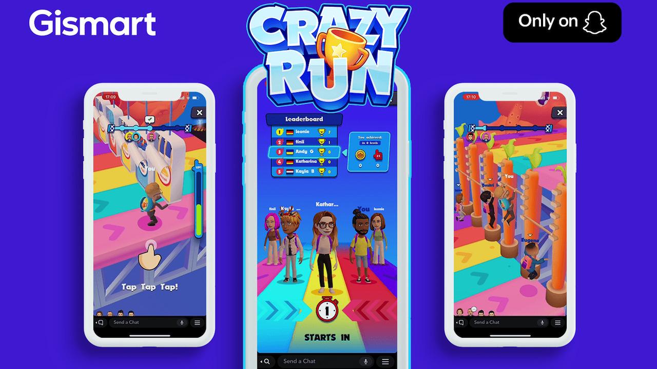 Crazy Run, il nuovo videogioco di Snapchat thumbnail