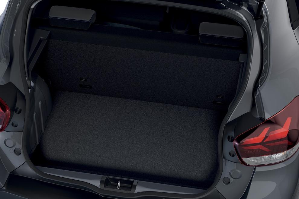 Dacia Spring 2021 bagagliaio