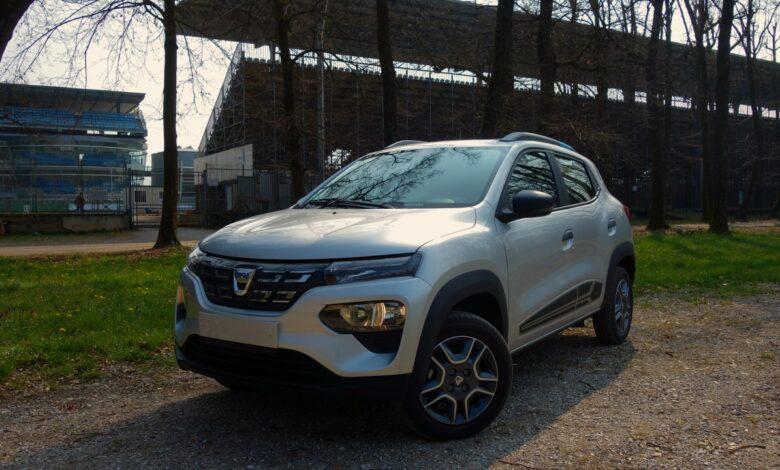 Dacia Spring 2021 copertina
