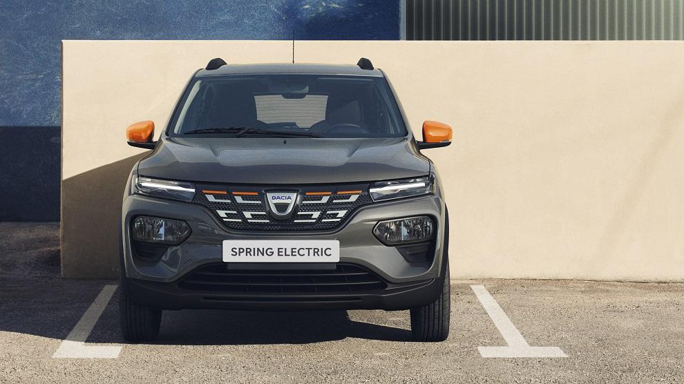 Dacia Spring 2021 frontale
