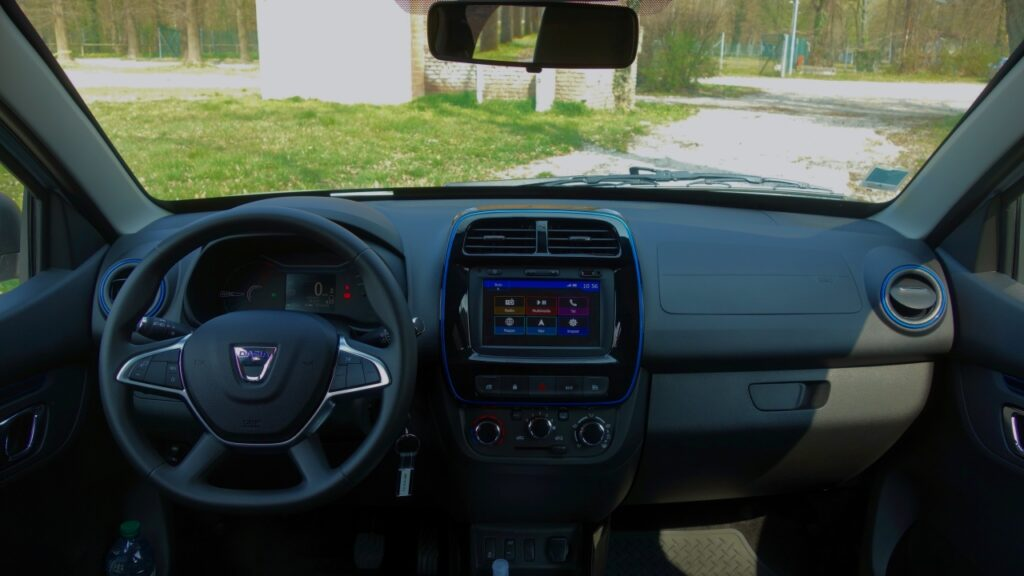 Dacia Spring 2021 interni