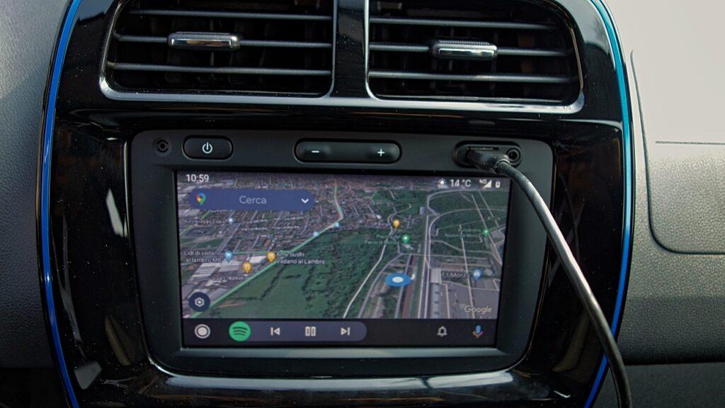 Dacia Spring 2021 navigatore