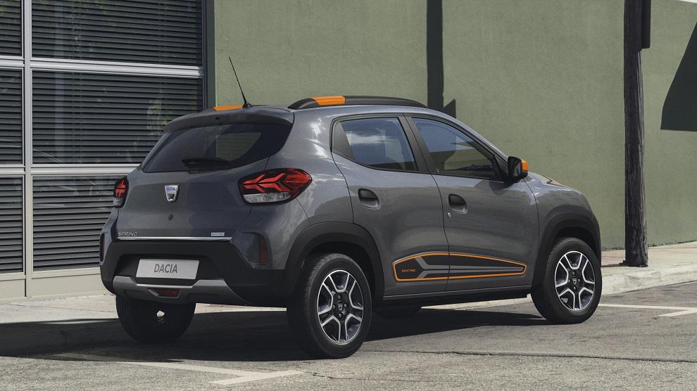Dacia Spring 2021 posteriore