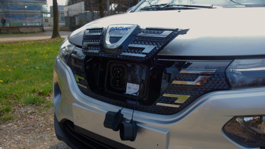 Dacia Spring 2021 ricarica