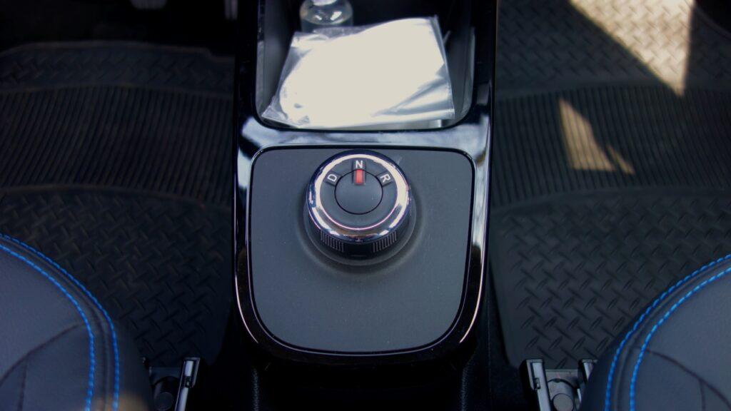 Dacia Spring 2021 rotella cambio