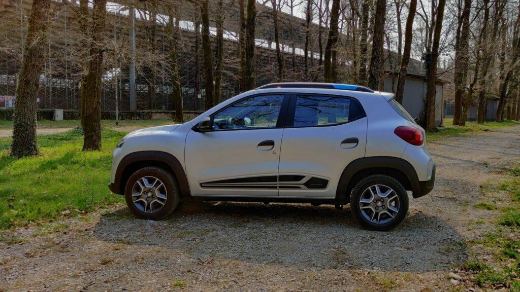 Dacia spring 2021 laterale