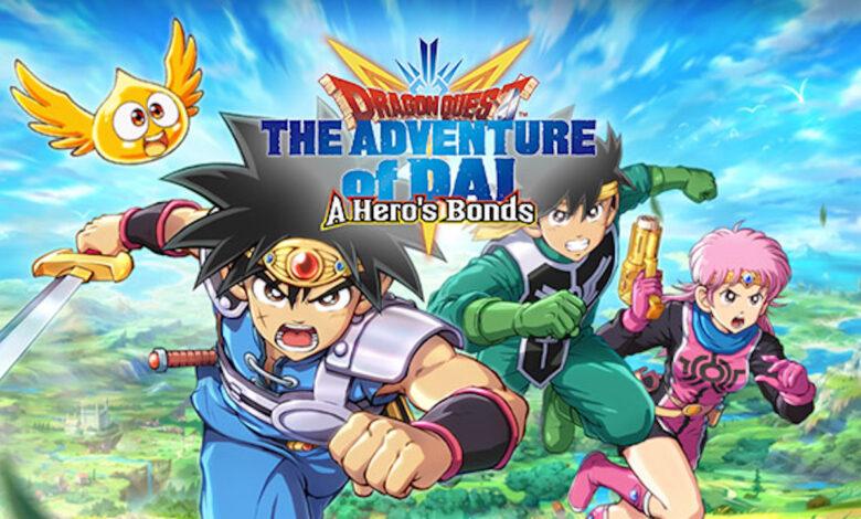 Dragon Quest The Adventure of Dai- A Hero's Bonds mobile game